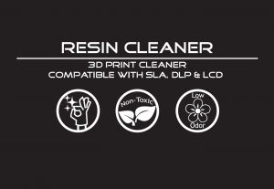 Liqcreate Resin Cleaner for SLA DLP and LCD 3D printing resins and surfaces