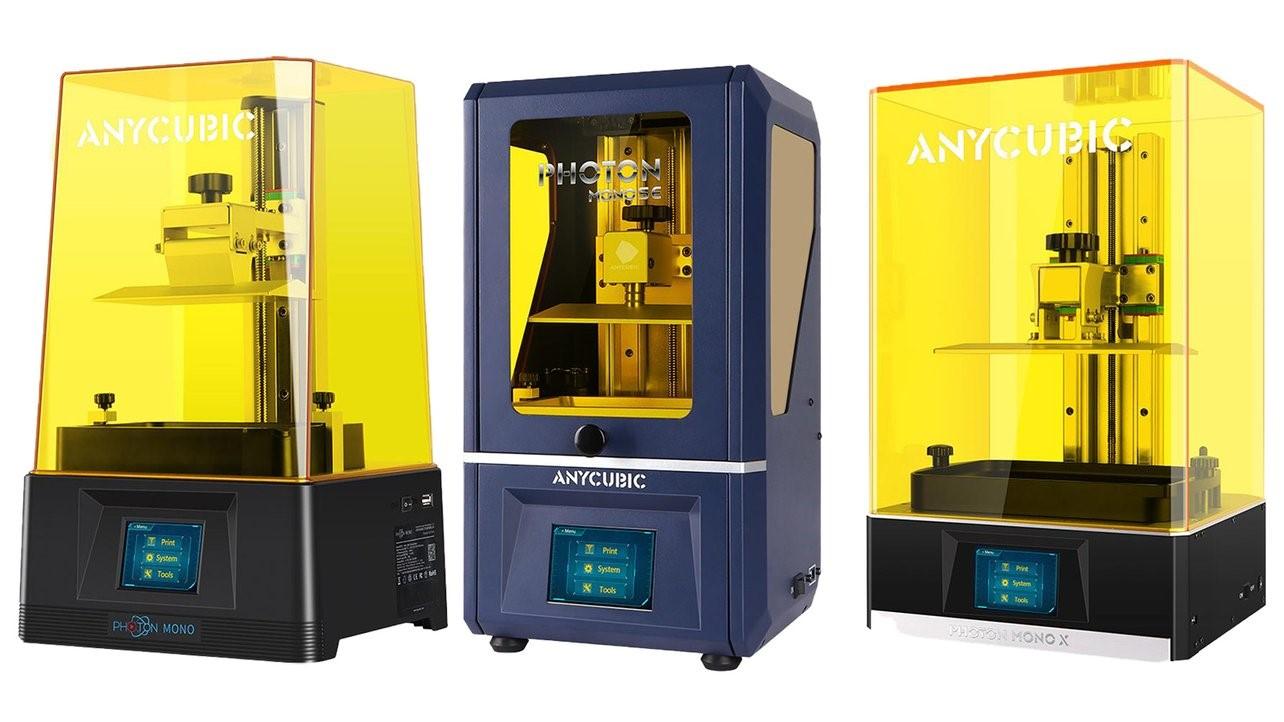 All3DP.com Anycubic Photon Mono vs Mono SE vs Mono X The Differences Liqcreate resins 3d-printing engineering