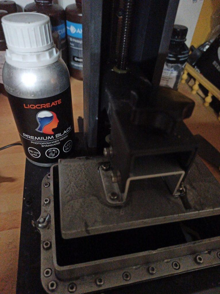 nozzler france resin review of Liqcreate Premium Black LCD CLIP DLP SLA MSLA resin for 3dprinting fast resi n